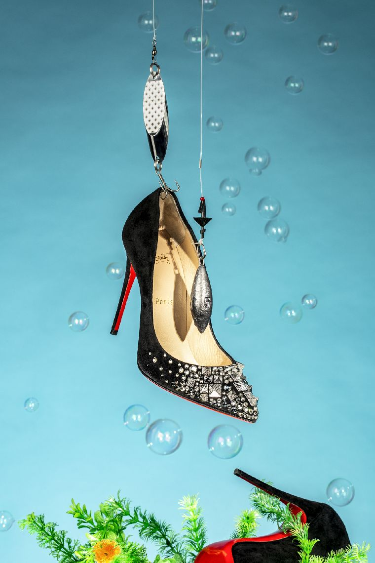 Gone_Fishing_LouboutinShoe
